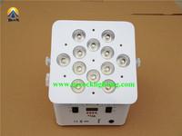 popular led par light for disco ,led ktv lights 12*10w rgbw flat battery led uplighting