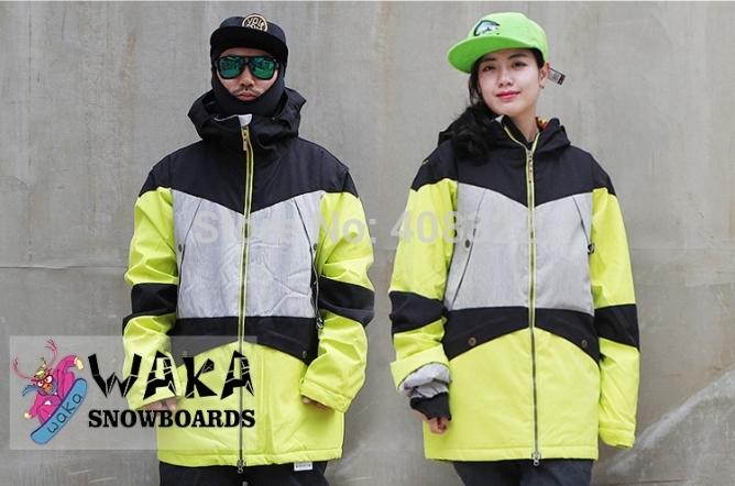 Spedizione gratuita,impermeabile 10k, breathable10k, uomini e donne snowboard sci cappotto o una giacca coppia giacchein nuovoinverno