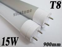Free shipping AC85-265V T8 15W   led tube , 900mm ,SMD2835  25-27m/LED,2 year warranty ,12W 13W led tube