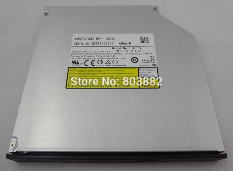 SATA Tray Load 6X Blu-Ray Player BD-ROM Combo CD DVD RW Burner Drive UJ160(China (Mainland))