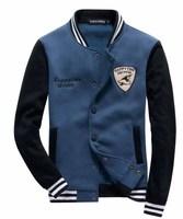 Man   Covered button collar   Sweatshirts  jacket   Leisure coat  Free-shipping New 2014 warm  winter