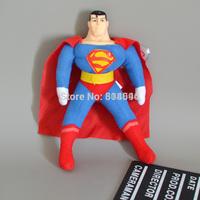 "Superhero Superman Plush Toys Soft Stuffed Dolls 10"" 26CM Free Shipping ANPT260"