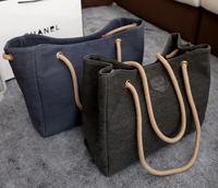 New 2014 big bags canvas shopping handbags simple shoulder bag handbag women bag women messenger bags travel