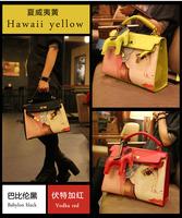 Hot Selling Women PU Leather Handbag,candy color handbag one shoulder crossbody bags ,fashion design free shipping