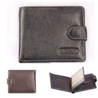 Men coin purse genuine leather men's casual wallets fashion high capacity credit card holder men wallets hot sell money bag