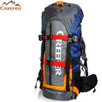 Large outdoor professional mountaineering backpack / hiking / camping / shoulder bag / 60L / brand bag