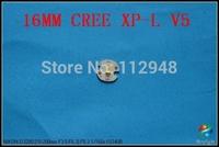 5pcs/Lot DIY 16mm CREE XP-L V5 6500K LED Emitter/Bulb 1350 Lumen for 501b,502b+Free Shipping