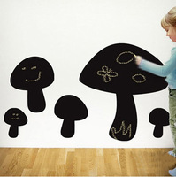 Chalkboard Wall Decals Farm Animal - Mushrooms Chalkboard Sticker Kids Wall Stickers Home Decoration 60X90cm Free Shipping