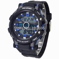 2014 New Fashion watch POPART 50M Waterproof Relogio Military Rubber Casual Sports Watch Men Women LED Digital Watch Wristwatch