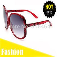 Big frame hot sale women outdoors cat eye fashion vintage sunglasses,Europe America designer brand female glasses