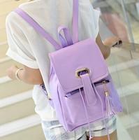 New fashion women single shoulder backpack shoulders dual-use bag leisure fashion PU students free shipping