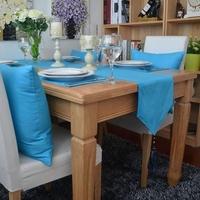 (30*160,30*180cm,30*200cm,30x220cm)New woven 100% cotton Lack BlueTable Runner/Flag Home Decoration Hotel Series Customize