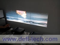 DEFI  4 screen Interactive floor system support 4 projectors with 12 effects now