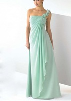 Cheap  Floor  length  chiffon  A   line   Special  occasion  Hot  selling    popluar   plus  size Custom made Bridesmaid Dresses
