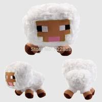 Hot Sale 2014 New fashion White Baby Sheep Minecraft Overworld Animal Plush Toys Doll minecraft toys birthday day gift for kids