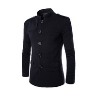 Top quality men jackets slim fit outerwear mens coat cardigans free shipping 2 colors M L XL XXL AY015