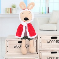 New arrival 45CM 1PC,2PCS 5% OFF Le Sucre Sugar Rabbit Plush Toy Rabbit Doll For Baby Gifts Free Shipping