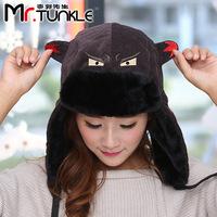 DG0886 Korean warm northeast hat little devil hat in autumn and winter warm man Lei Feng hat shark hat