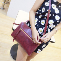 2014 Free shipping women messenger bag women leather bag
