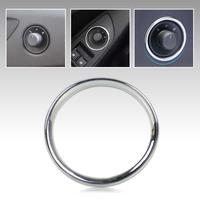 ABS Chrome Car Door Rearview Mirror Switch Knob Decoration Circle For Chevrolet Cruze 2009-2014 Trax AVEO Malibu 2014   ECA02061