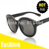 Vintage cat eye design hot sale fashion women outdoors sunglasses,Big round shape female Europe designer brand glasses