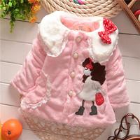 winter kid warm jackets kids girls children girls baby classical style outwear coats 2014 KT548R