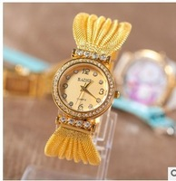 The new bracelet watches classic fashion ladies watch charm mesh belt OL watches