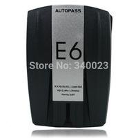 Top Selling High Quality E6 Car Radar Detector Russian/English Version LED Display Radar Detector