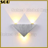Modern 3W High Power 3 LED Up Down Wall Lamp Spot Light Sconce Lighting
