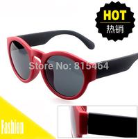 Matt design promotion hot sale women fashion outdoors sunglasses of round shape,designer brand UV female elegant glasses