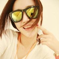 NEWS fashion Square Box black sunglasses matte black frame sunglasses HYL182