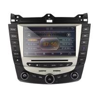 OEM car dvd player gps navigation for honda accord 7 2003-2007 EURO car Stereo Radio dual / Single Zone Climate Control ferr gif