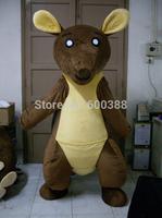 Real picture !!! New christmas cartoon character kangaroo mascot costume kids party costume