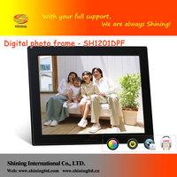 12.1inch acrylic photo frames wholesale SH1201DPF