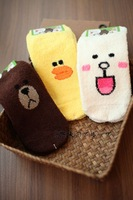 LINE Friends Plush Woman Socks--Christmas Gift Novelty Toy