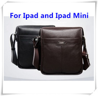 Famous P.KUONE Brand new casual Genuine cowhide leather men messenger bag man fashion shoulder bag brifcase  for ipad