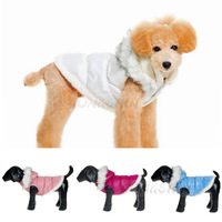 4pcs/lot Hot selling dog clothing jacket for Winter cheap pet products wholesale small large cute dog clothes teddy pug pitbull