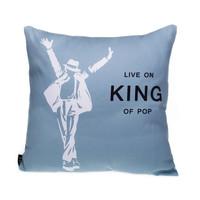 michael jackson funda cojin 45 cushion cover home decor grey pillow case