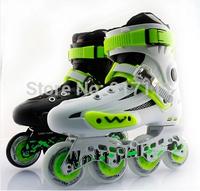 WeiQiu supreme Adult Inline Skates Professinal Roller Skates Shoes Good Quality Slalom/Braking/FSK Rollerblade Patins Ball