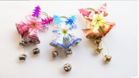 Festive Party Supplies Christmas Bell Decoration Supplies Pendant Ornament For Christmas Tree