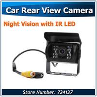 Car Rear View Reverse CCD Camera For Truck Van Trailer Buses Night Vision Waterproof Shockproof