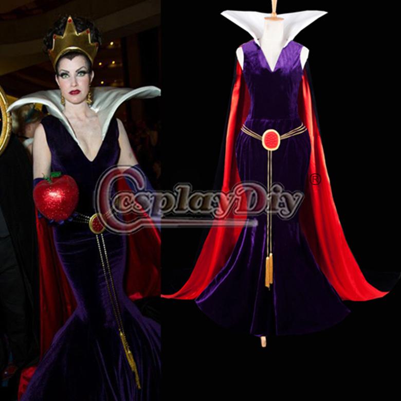 Snow White Evil Witch Costume Custom Made Snow White Evil