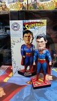 "DC Super Hero Superman HeadKnocker Wacky Wobbler Bobble Head PVC Figure Toy Doll 8"" 20CM HRFG308"