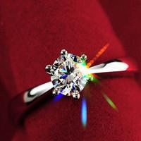 2014 Star Fashion Platinum wedding  ring lovers ring
