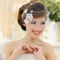 Bridal hair accessories silk yarn lace headdress hair accessories wedding dress accessories handmade jewelry jewelry Korean hair
