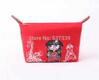 The ugly doll makeup bag waterproof Oxford cloth bag pirate portrait wash bag