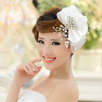 Bridal hair accessories wedding dress hat head flower headdress Europe and America champagne wedding accessories bridal jewelry
