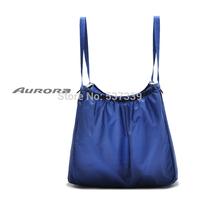 Encryption supermarket trolley 420D nylon folding shopping bag multifunction large-capacity portable shoulder bag