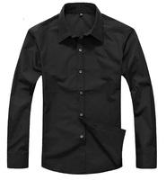 Free Shipping Rsan Men's Long Sleeve Solid Button up Shirt