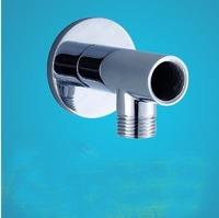 "Brass Chrome Finish Shower Arm Connector  Bracket  G1/2"" thread"